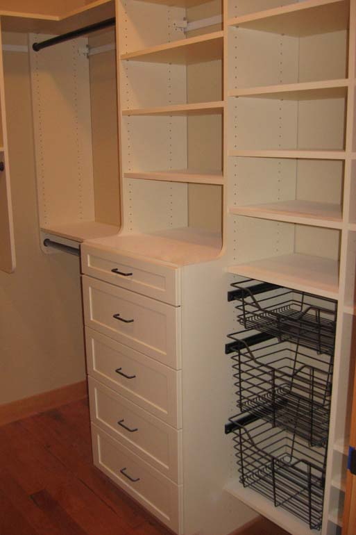 Walk in closets custom closets llc closet organizers for Adding a walk in closet