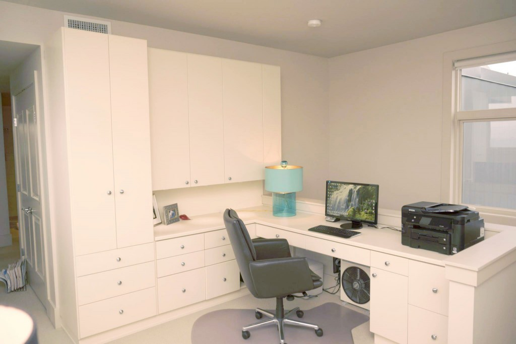 custom home office – custom closets, llc - closet organizers and